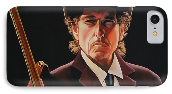 Bob Dylan 2 IPhone 7 Case by Paul Meijering