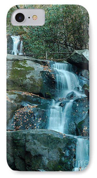 IPhone Case featuring the photograph  Bottom Of Laurel Falls by Patrick Shupert