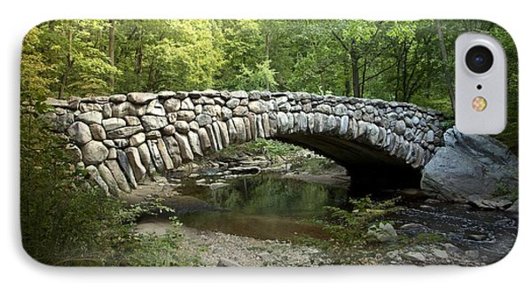 Boulder Bridge Washington D.c IPhone Case by Heinz G Mielke