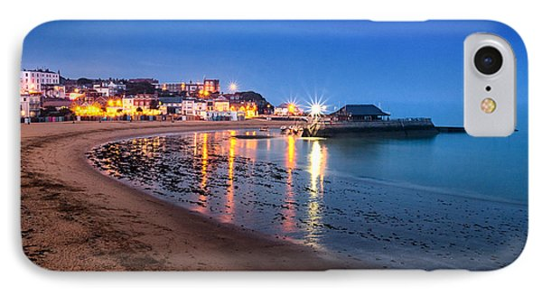 Broadstairs At Twilight.  IPhone Case