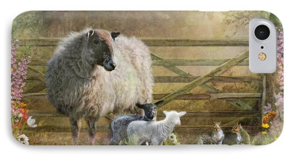 By The Gate IPhone Case by Trudi Simmonds