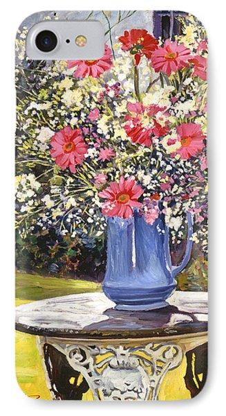 Camille's Garden Bouquet IPhone Case by David Lloyd Glover