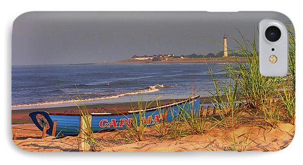 Cape May Beach IPhone Case by Nick Zelinsky