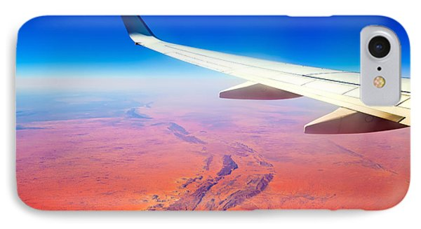 Central Australia From The Air  IPhone Case