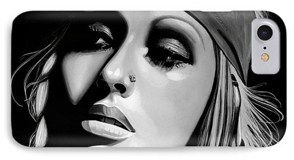Christina Aguilera IPhone Case