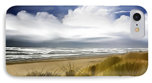 IPhone Case featuring the digital art  Coastal Breeze by Anthony Fishburne