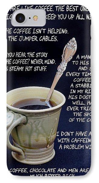 Coffee Humor IPhone Case