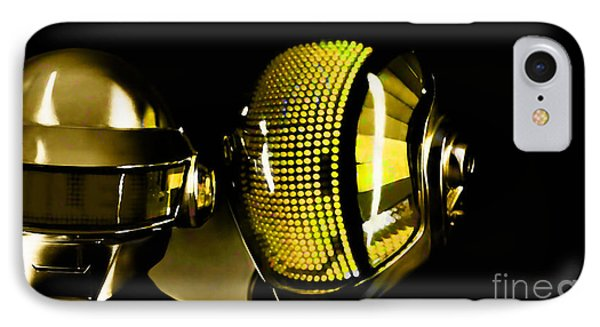 Daft Punk  Phone Case by Marvin Blaine