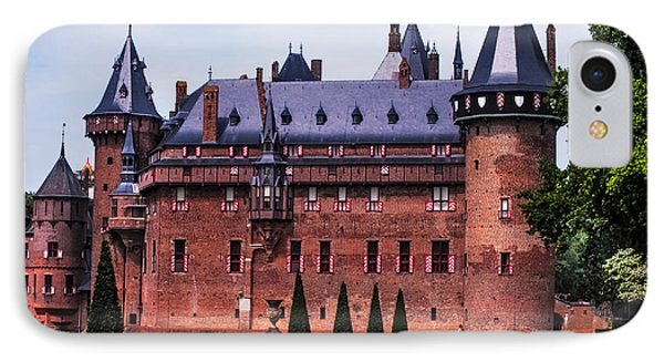 De Haar Castle 4. Utrecht. Netherlands Phone Case by Jenny Rainbow