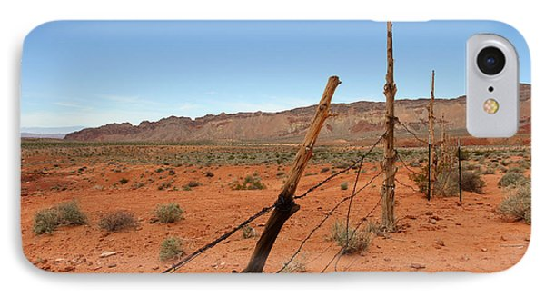IPhone Case featuring the photograph  Don't Fence Me In by Tammy Espino