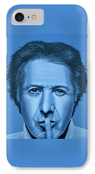 Dustin Hoffman Painting IPhone Case by Paul Meijering