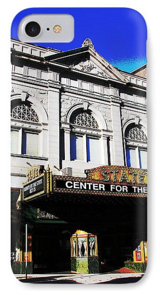Easton Pa State Theater Center For The Arts IPhone Case by Jacqueline M Lewis