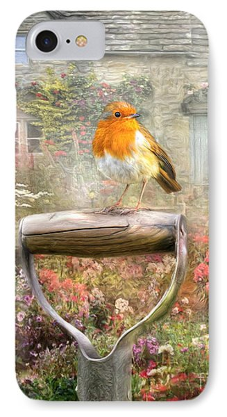 English Robin IPhone Case by Trudi Simmonds