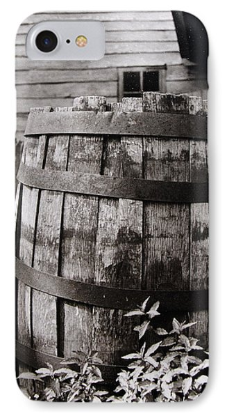IPhone Case featuring the photograph  Ephrata Cloisters Barrel by Jacqueline M Lewis