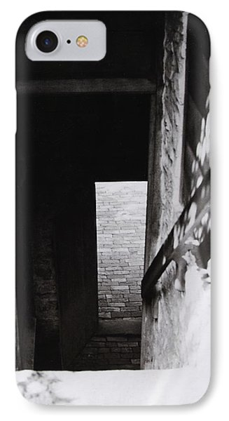 IPhone Case featuring the photograph  Ephrata Cloisters Stairway by Jacqueline M Lewis