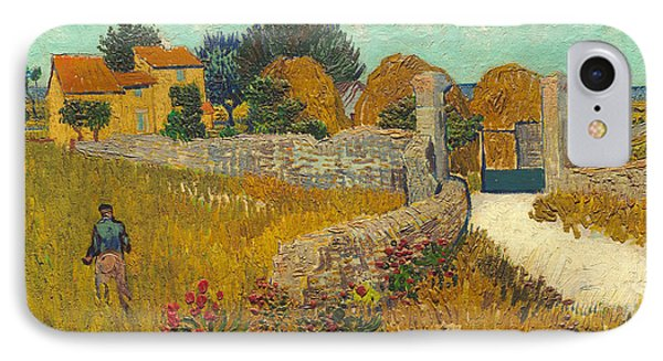 Farmhouse In Provence Phone Case by Vincent van Gogh