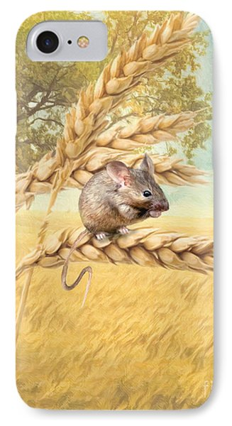 Field Mouse IPhone Case by Trudi Simmonds