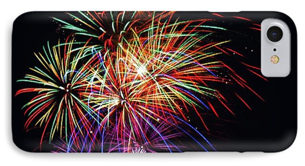 Fireworks Across The Bay IPhone Case