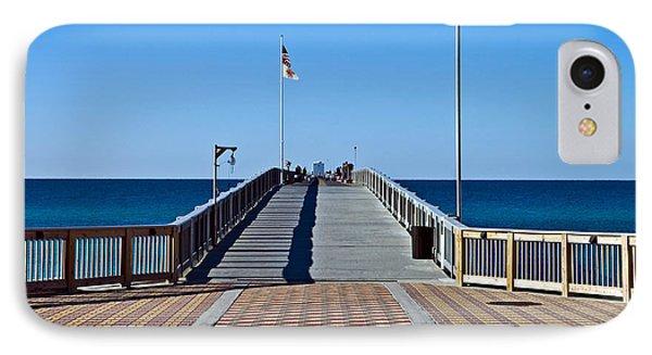 Fishing Pier Phone Case by Susan Leggett
