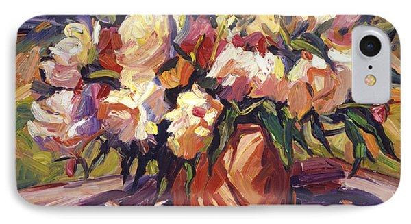 Flower Bucket IPhone Case by David Lloyd Glover