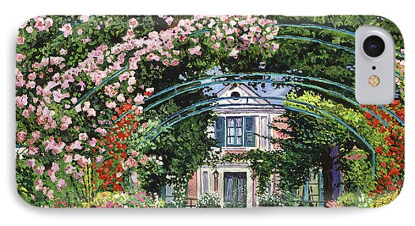 Flowering Arbor Giverny IPhone Case