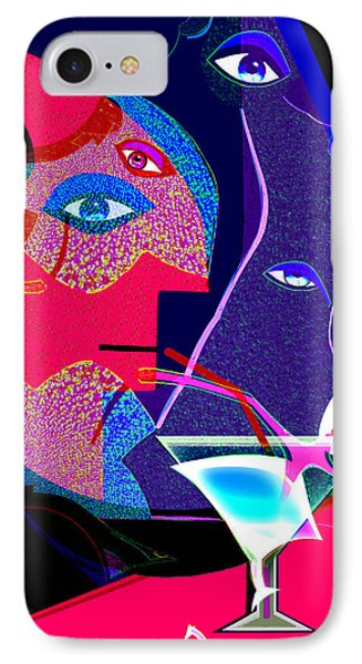 Fractal Fatal 264 Phone Case by Irmgard Schoendorf Welch