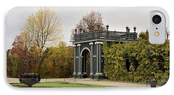 IPhone Case featuring the photograph  Garden Gate Schonbrunn Palace Vienna Austria by Imran Ahmed