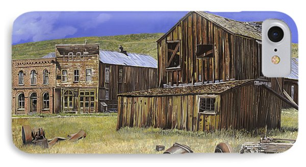 Ghost Town Of Bodie-california Phone Case by Guido Borelli