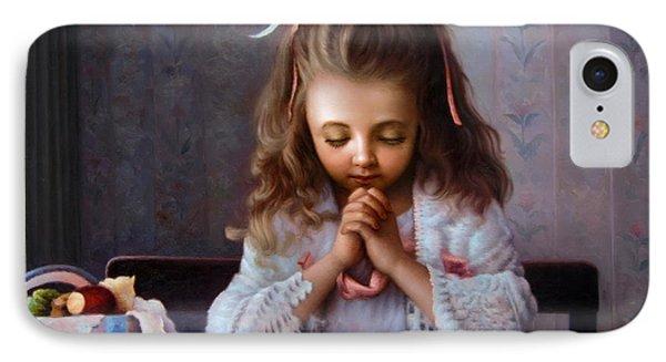 Girl's Prayer IPhone Case
