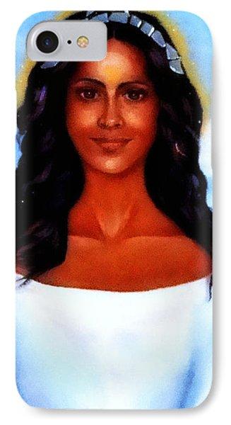Goddess Yemaya IPhone Case by Carmen Cordova