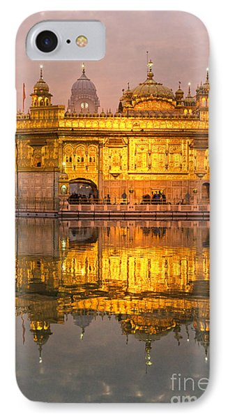 Golden Temple In Amritsar - Punjab - India IPhone Case