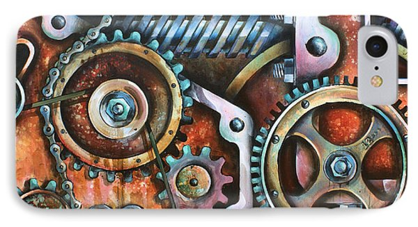 ' Harmony 8' Phone Case by Michael Lang