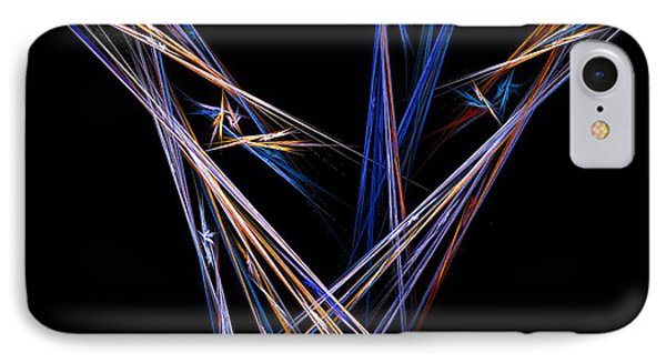 IPhone Case featuring the digital art  Harvest by R Thomas Brass