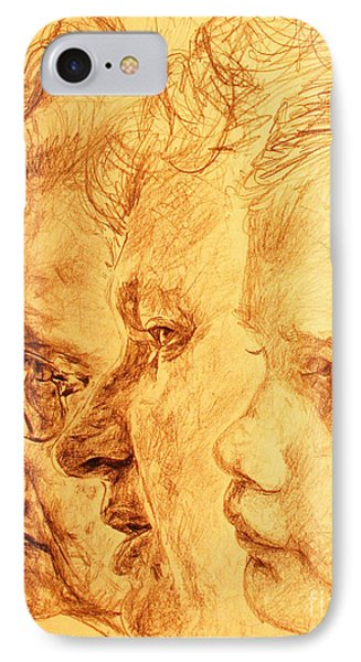 Have Your 3 Generations Drawn Or Painted Phone Case by PainterArtistFINs Husband MAESTRO