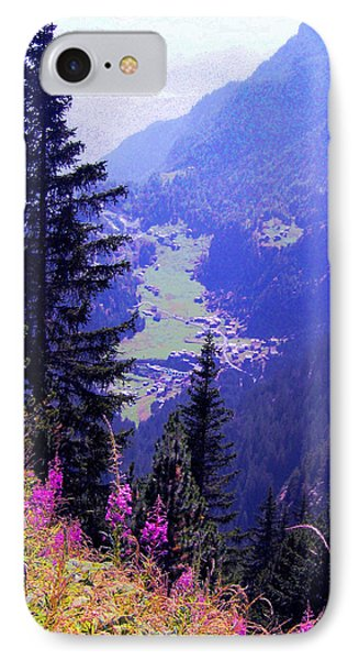 High Mountain Pastures IPhone Case by Giuseppe Epifani