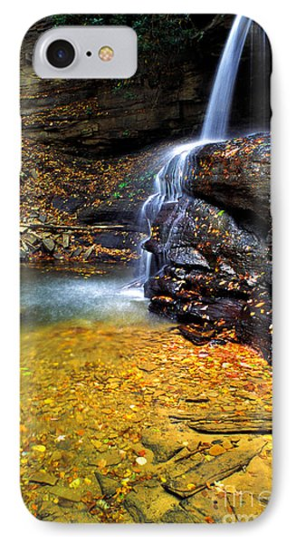 Holly River State Park Upper Falls Phone Case by Thomas R Fletcher
