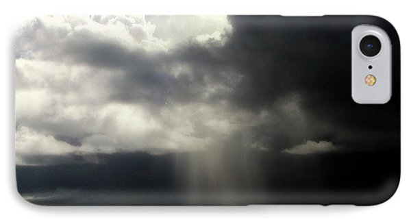 Hurricane Glimpse Phone Case by Karen Wiles