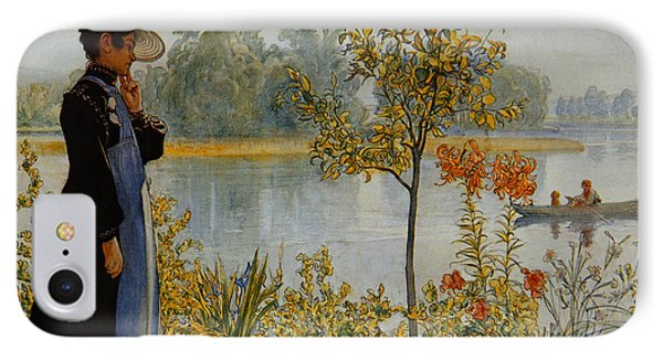 Indian Summer Phone Case by Carl Larsson