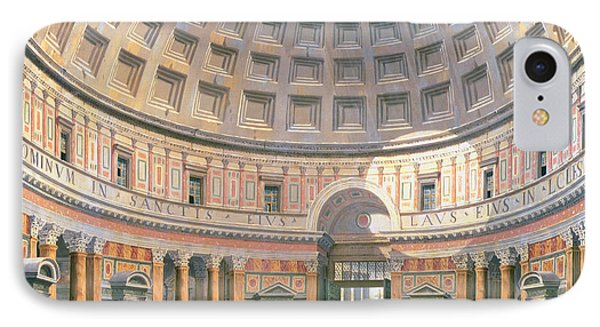 Interior Of The Pantheon IPhone Case