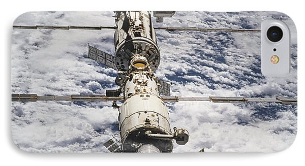 International Space Station Phone Case by Anonymous