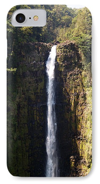 Island Waterfalls IPhone Case by Athala Carole Bruckner
