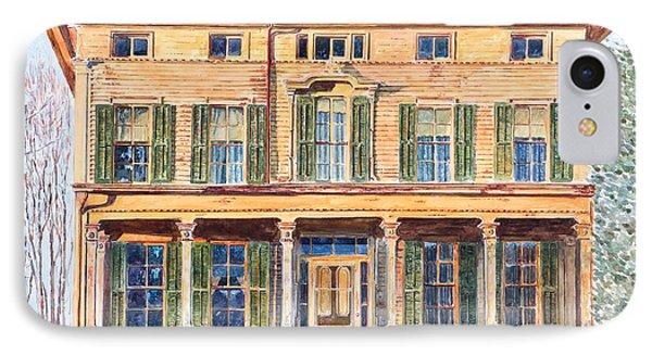 Italianate House Ny Phone Case by Anthony Butera
