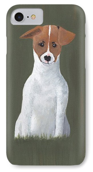 Jack Russell Puppy IPhone Case