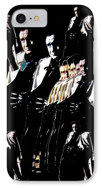 IPhone Case featuring the photograph  Johnny Cash Multiplied  by David Lee Guss