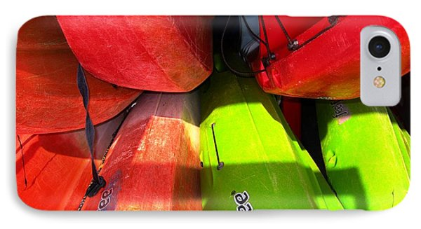 Kayaks IPhone Case by Michelle Meenawong