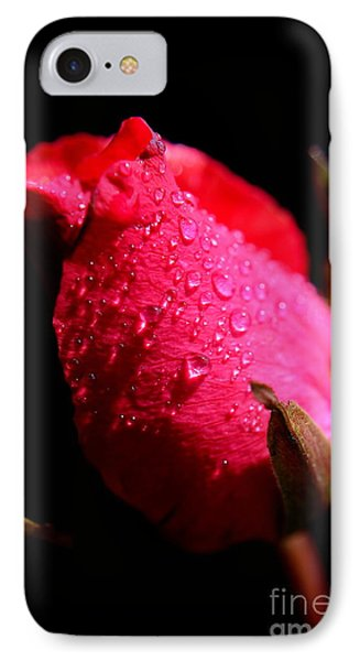 IPhone Case featuring the photograph  La Rose by Michelle Meenawong