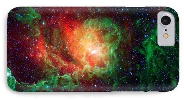 Lagoon Nebula IPhone Case by Jennifer Rondinelli Reilly - Fine Art Photography