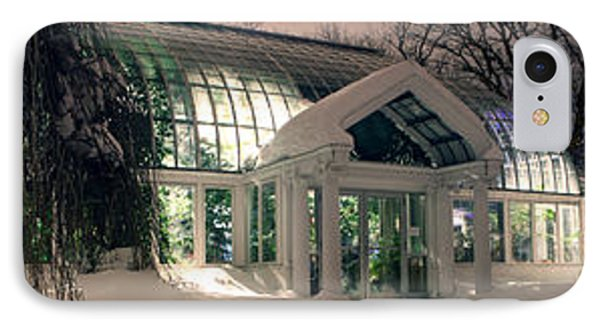 Lamberton Conservatory IPhone Case by Richard Engelbrecht