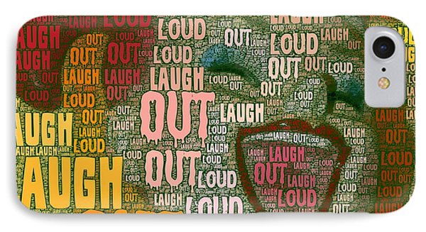 IPhone Case featuring the photograph  Laugh Out Loud  by Linda Weinstock