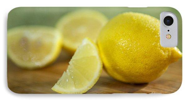 Lemon Citrus Limon Zitronen IPhone Case by Iris Richardson